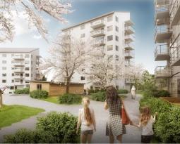 Nytt bostadsprojekt för Tommy Byggare i Tuve Centrum