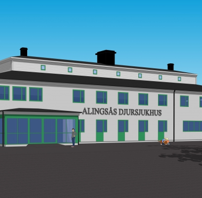 Djursjukhuset, Alingsås