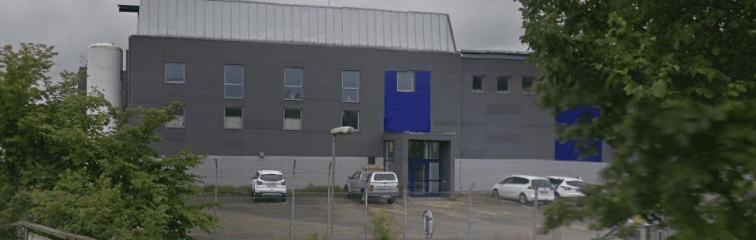 Mariebergs Vattenverk i Uddevalla byggs om